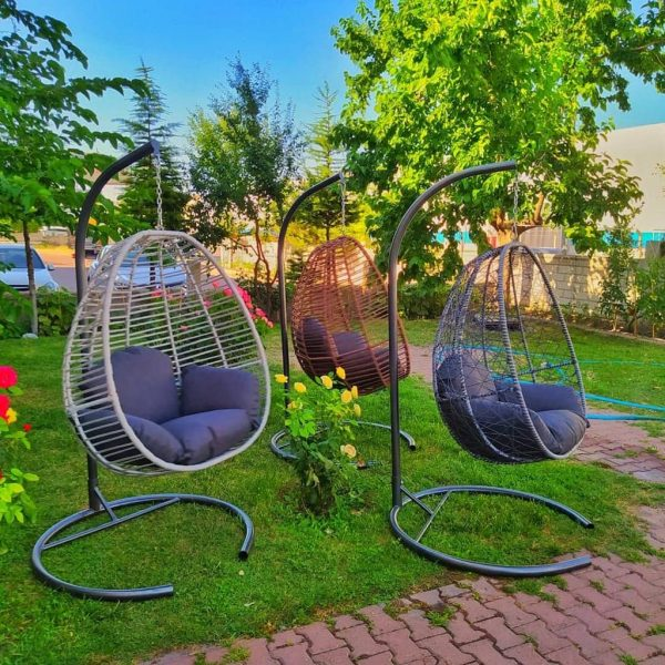 Hangstoel Egg Chair Florino