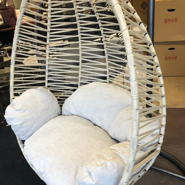 Hangstoel Egg Chair Florino Beige